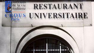 Un restaurant universitaire à Paris, le 3 mars 2010. (LOIC VENANCE / AFP)