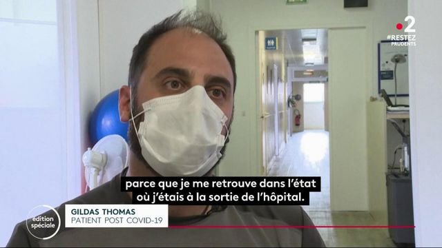 Covid-19 : la difficile guérison des malades