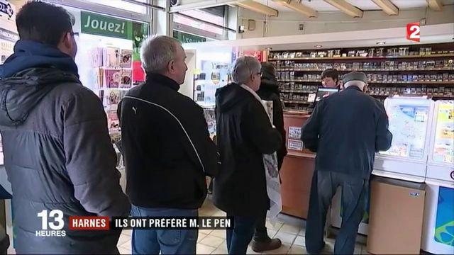 Harnes : ils ont préféré Marine Le Pen