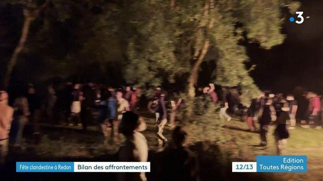 Fête clandestine à Redon : bilan des affrontements