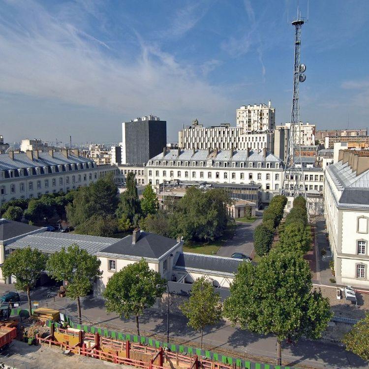 Le siège de la DGSE, les services secrets français, boulevard Mortier, à Paris. (- / DGSE)
