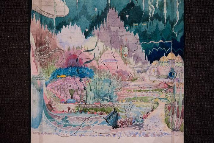 'Roverandom Illustration' par J. R. R. Tolkien  (Daniel LEAL-OLIVAS / AFP)