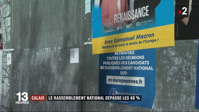 Élections européennes : le RN dépasse les 40% à Calais