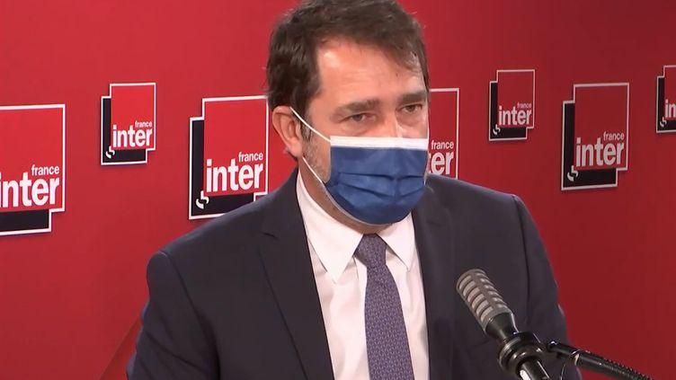 Christophe Castaner, président du groupe La République en Marche à l'Assemblée nationale; (FRANCEINTER / RADIOFRANCE)