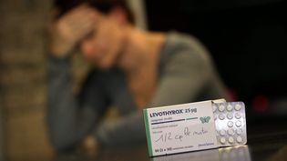 En France, 500 000 personnes ont abandonné le Levothyrox, selon des chiffres communiqués par le ministère de la Santé. (MAXPPP)