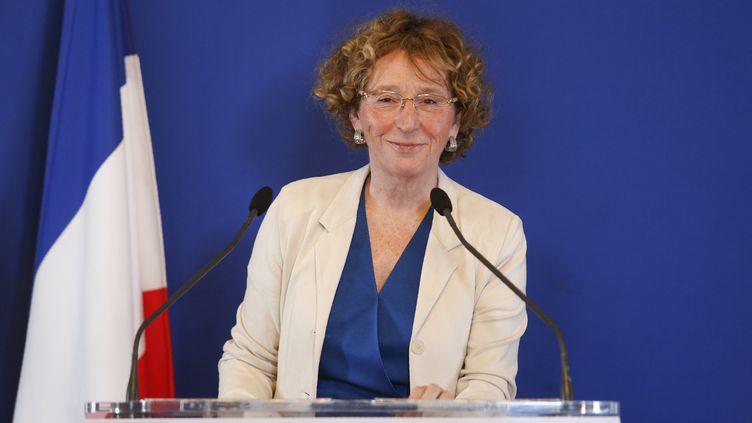 La ministre du Travail, Muriel Pénicaud, le 28 juin 2017 à Paris. (GEOFFROY VAN DER HASSELT / AFP)
