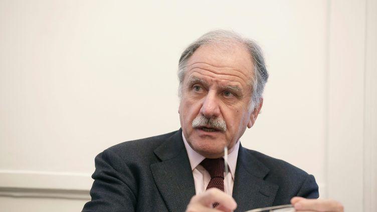 Le député-maire de Bègles (Gironde), le 15 janvier 2014, à l'Assemblée nationale. (MAXPPP)
