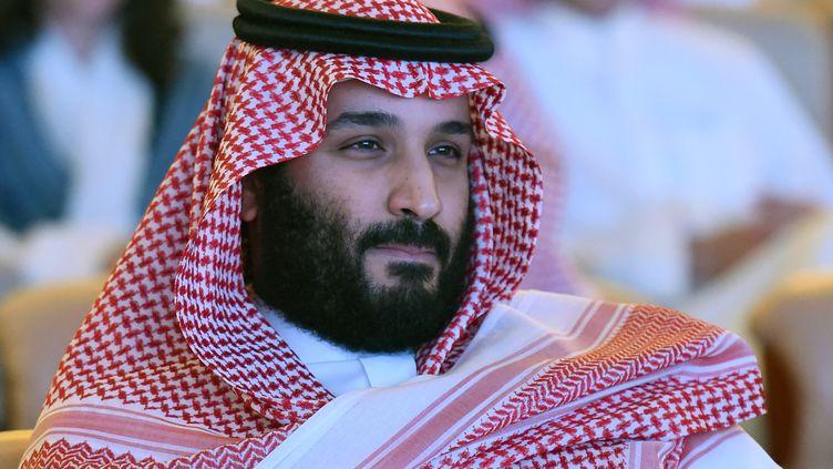 Le prince héritier et homme fort d'Arabie saoudite, Mohammed Ben Salmane, le 24 octobre 2017 à Riyad. (FAYEZ NURELDINE / AFP)