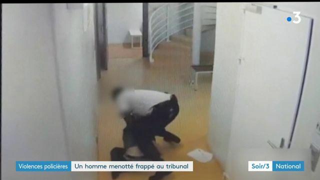 Violences policières : un homme menotté et frappé au tribunal