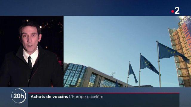 Coronavirus : la Commission européenne veut anticiper la pénurie de doses de vaccin