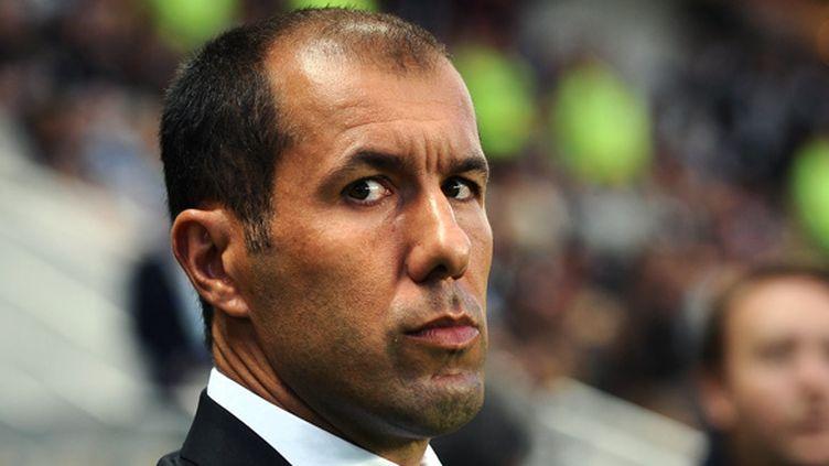 L'entraîneur portugais de l'AS Monaco Leonardo Jardim (JEAN-SEBASTIEN EVRARD / AFP)