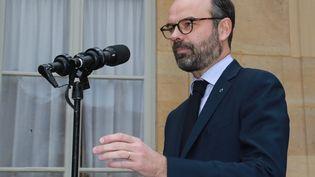Edouard Philippe à Matignon, à Paris, le 17janvier 2019. (JACQUES DEMARTHON / AFP)