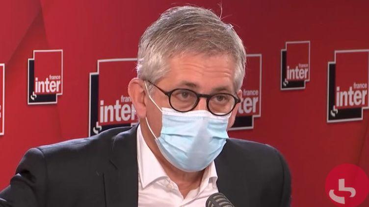 Frédéric Valletoux était l'invité de France Inter mercredi 28 octobre. (FRANCE INTER)