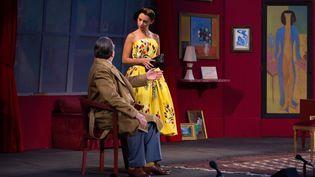 """""""Faisons un rêve"""" de Sacha Guitry, adaptée par Nicolas Briançon avec Brigitte Fossey  (Vincent Fribault – photographe officiel du Festival d'Anjou)"""