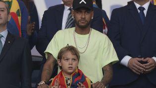 Le footballeur brésilien Neymar, le 7 juillet 2019, à Rio de Janeiro. (JUAN MABROMATA / AFP)