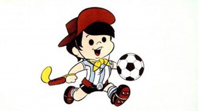 (Gauchito, la mascotte du Mondial 1978 en Argentine © Fifa)