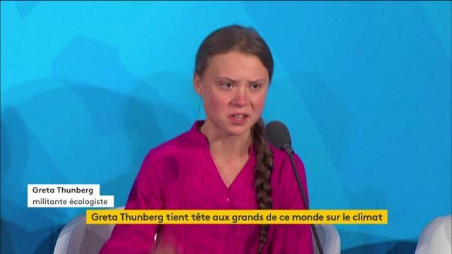 Aux Etats-Unis, le climat, Greta Thunberg et les puissants