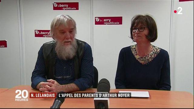 Les parents d'Arthur Noyer lancent un appel à Nordahl Lelandais
