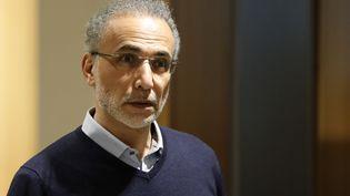 Tariq Ramadan au Palais de Justice de Paris, le 13 février 2020 (photo d'illustration). (THOMAS SAMSON / AFP)