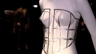 Armature de corset, Paris les Arts décoratifs  (Crédit Patricia Canino / Culturebox)