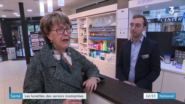 Santé : les lunettes des seniors inadaptées
