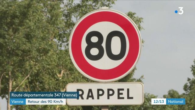 Vienne : retour des 90 km/h