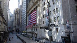 La Bourse de New York, le 4 novembre 2020. (KENA BETANCUR / AFP)
