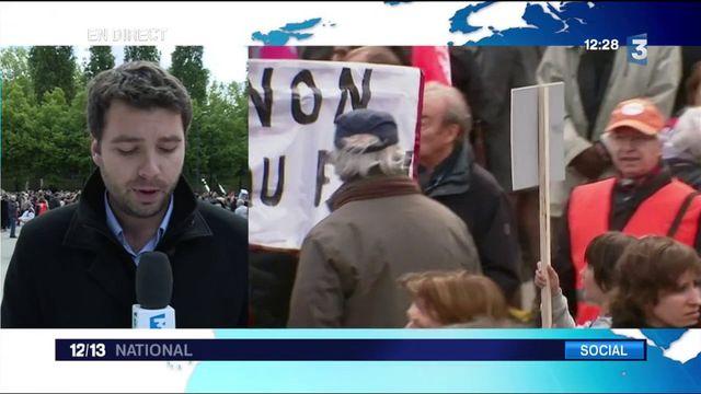 1er mai : la CFDT manifeste contre Marine Le Pen et appelle à voter Emmanuel Macron