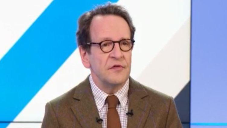 Gilles Le Gendre, président du groupe LREM à l'Assemblée nationale. (FRANCE 3)