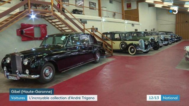 Automobile : l'incroyable collection de voitures d'André Trigano