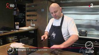 Le chef étoilé Julien Lemarié. (France 2)