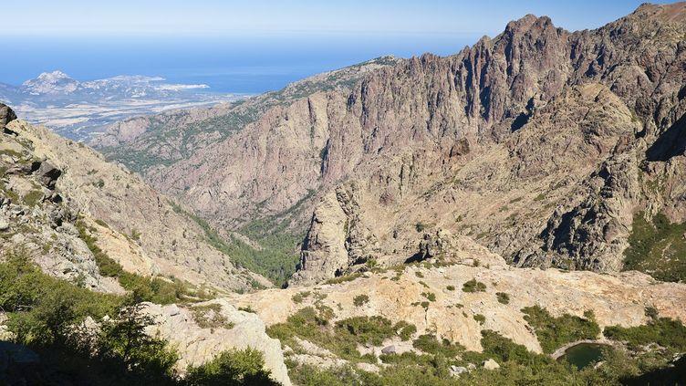 L'accident s'est produit le 10 juin 2015 près d'Asco (Haute-Corse), dont les environs sont photographiés ici en 2011. (GUIZIOU FRANCK / HEMIS.FR)