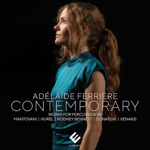 """La pochette du disque de la percussionniste Adélaïde Ferrière, """"Contemporary"""". (EVIDENCE/LITTLE TRIBECA)"""