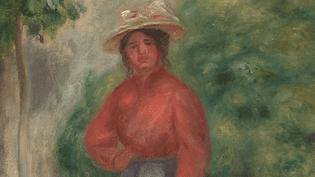 Gabrielle Renard, l'un des modèles préférés de Renoir, était originaire d'Essoyes dans l'Aube, tout comme sa femme Aline Charigot.  (France 3 - capture d'écran)