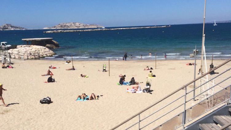 (La plage des Catalans, à Marseille © Radio France/Laurent Gauriat)