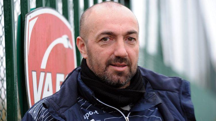 David Le Frapper, entraîneur de Valenciennes de février à décembre 2015 (FRANCOIS LO PRESTI / AFP)