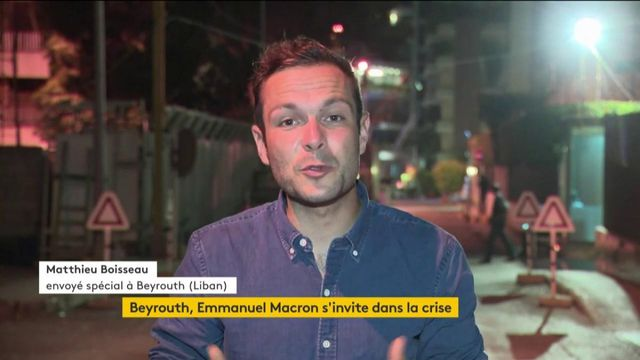 Emmanuel Macron au Liban : une visite à l'accueil mitigé
