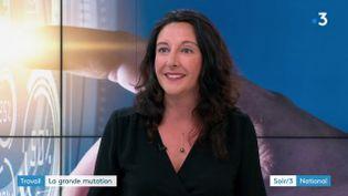 Isabelle Rouhan, spécialiste des nouveaux métiers du numérique (France 3)