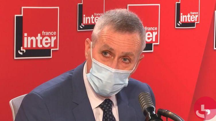 François Molins, procureur général près la Cour de cassation, le 8 juin 2021 sur France Inter.  (FRANCEINTER / RADIO FRANCE)