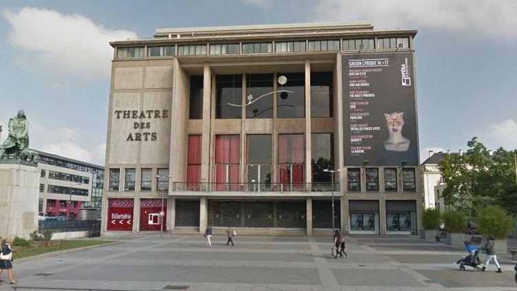 Le Théâtre des arts de Rouen (Seine-Maritime), également appelé l'Opéra de Rouen Normandie, en octobre 2016. (GOOGLE STREET VIEW)