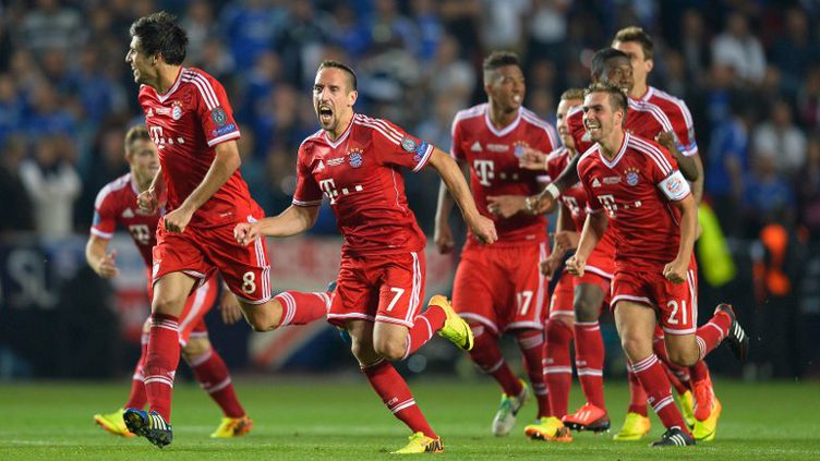 Bayern Munich.  (ODD ANDERSEN / AFP)