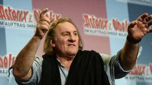 Gérard Depardieu (1er octobre 2012)  (Johannes Eisele / AFP)