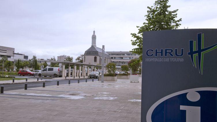 L'hôpital Bretonneau de Tours (Indre-et-Loire). (ALAIN JOCARD / AFP)