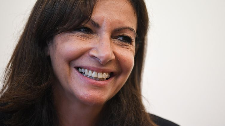 Anne Hidalgo, le 15 septembre 2021, à Nancy. (PATRICK HERTZOG / AFP)