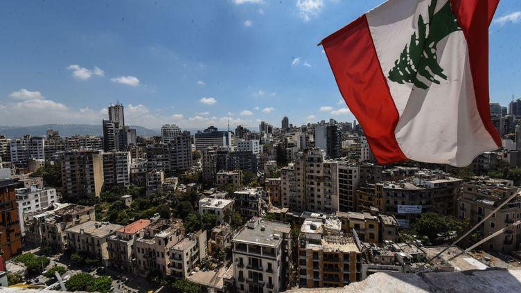 Beyrouth, ravagée par l'explosion du 4 août sur le port (ELIZABETH FITT / SIPA)
