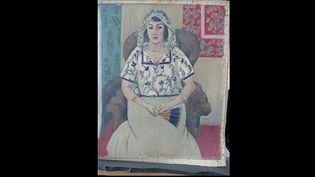 """""""Femme assise"""" de Matisse sera le premier tableau du trésor de 1.406 oeuvres d'art, retrouvé dans l'appartement munichois de M. Gurlitt en 2012  (DR)"""