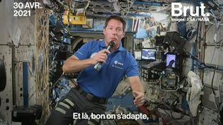 VIDEO. Thomas Pesquet : son quotidien à bord de l'ISS (BRUT)