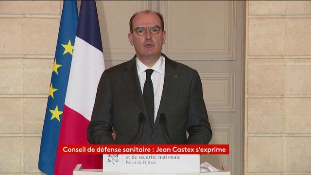 Intégralité de la prise de parole de Jean Castex