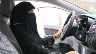 En Arabie Saoudite, un salon de l'automobile est réservé aux femmes. (FRANCE 3)