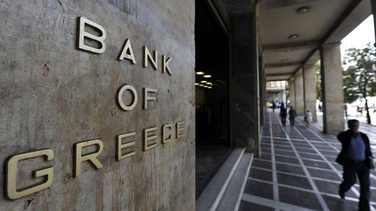 Siège de la Banque natioanle de Grèce (ARIS MESSINIS / AFP)